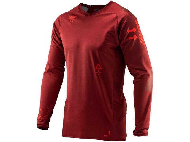 Leatt DBX 5.0 All Mountain Jersey Herren ruby